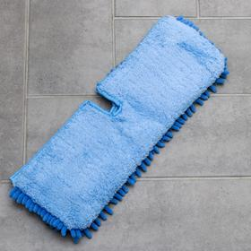 Nozzle for two-sided mops microfiber 40 × 12 × 2 cm, 150 g MIX color