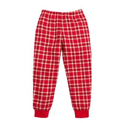Брюки для девочки, рост 110 см, цвет красный