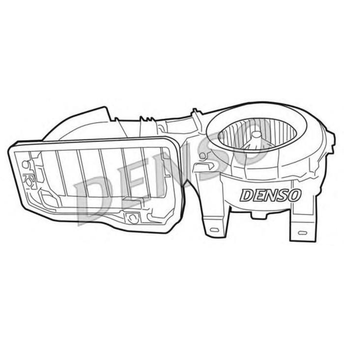 Вентилятор отопителя  Denso DEA23001