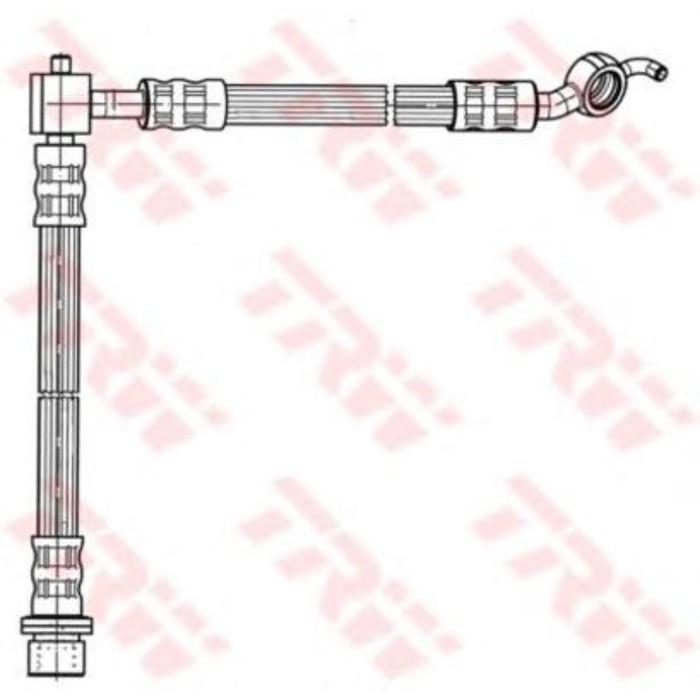 Шланг тормозной TRW PHD931