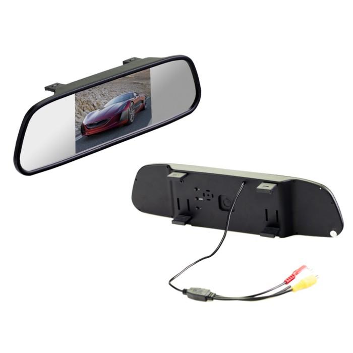 """Монитор Interpower зеркало 5"""" HD"""