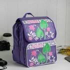 Рюкзак детский на молнии, 2 отдела, 1 наружный карман, цвет сиреневый