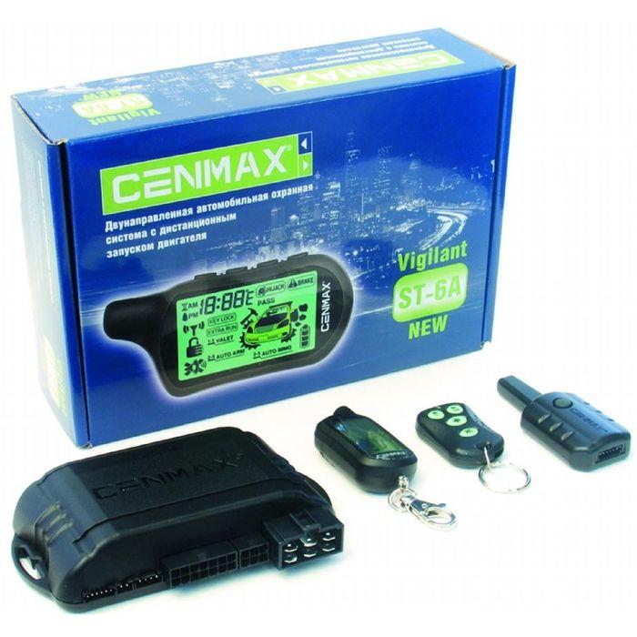 Сигнализация CENMAX Vigilant ST-6A - Автозапуск