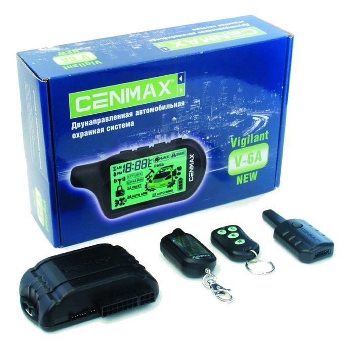 Сигнализация CENMAX Vigilant V 6A