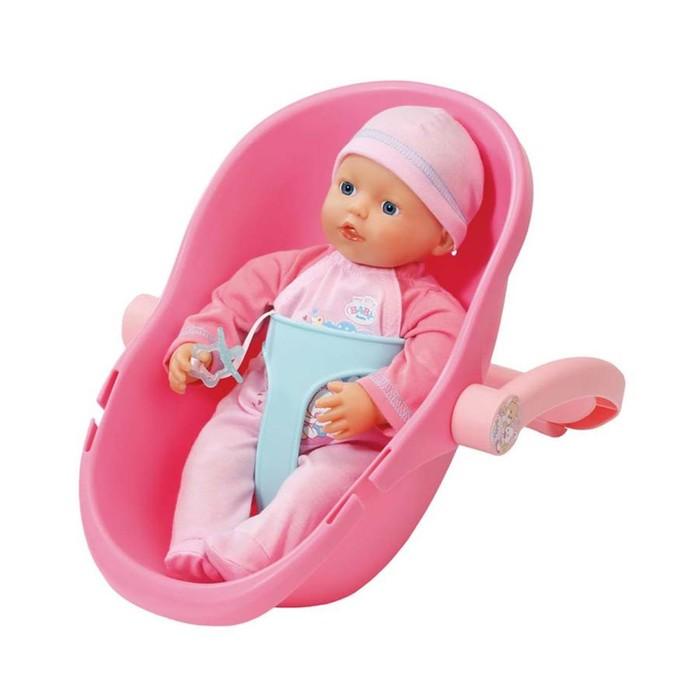Кукла и кресло-переноска My little BABY born