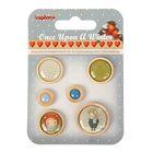 Sequins, buttons, beads