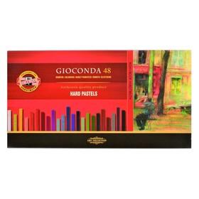 Пастель сухая художественная Hard Koh-I-Noor GIOCONDA 8116, 48 цветов, профессиональная, в картонной коробке