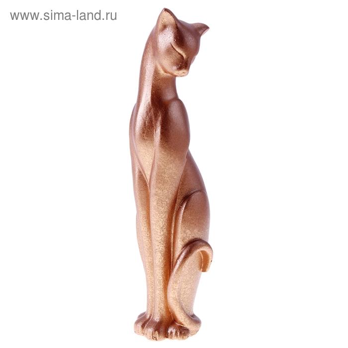 "Сувенир ""Кошка Багира №4"" песочная"