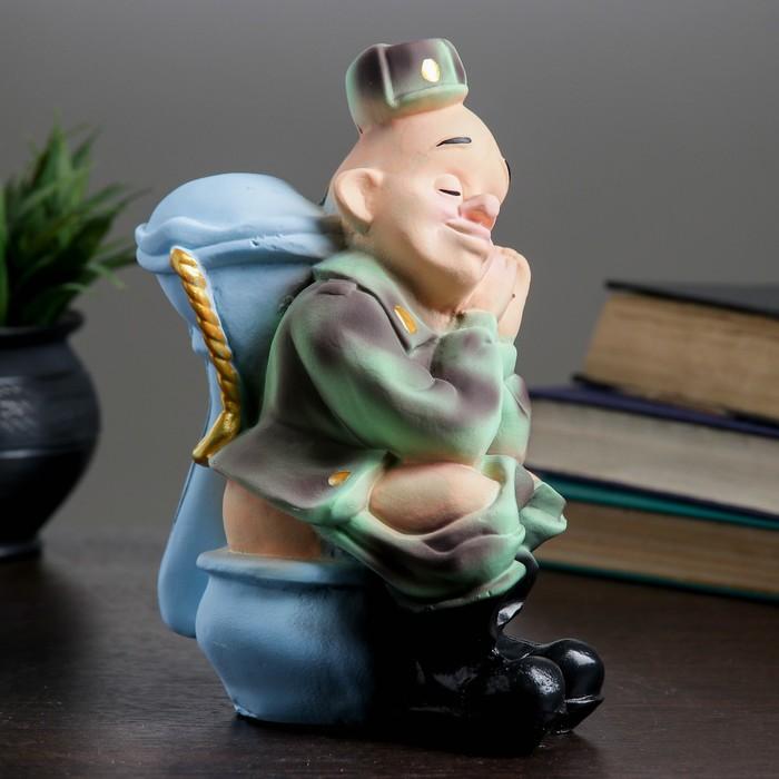 "Копилка ""Солдат"" 22х16х9см"