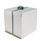 Кондитерская упаковка, короб белый 42 х 42 х 45 см - фото 308034940