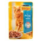 Влажный корм FRISKIES для кошек, лосось в подливе, 100 г