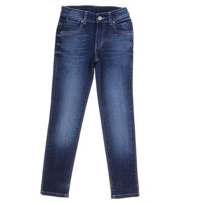 Джинсы для девочки, рост 164 см, цвет синий 4159 3570 К8