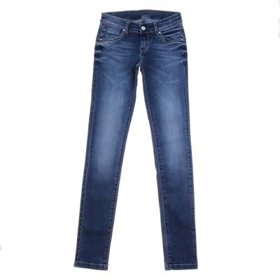 Джинсы для девочки, рост 122 см, цвет синий 4158 JL01