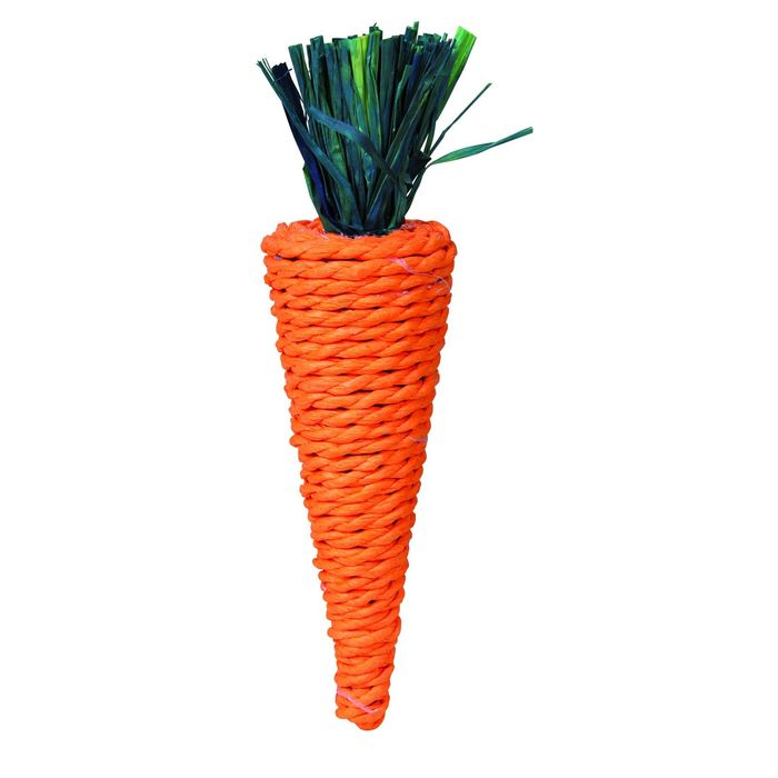 """Игрушка Trixie """"Морковь"""" для грызунов, 20см"""