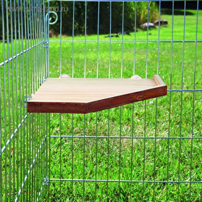 Деревянное укрытие Trixie Natural Living для грызунов g, 33 ? 33 см