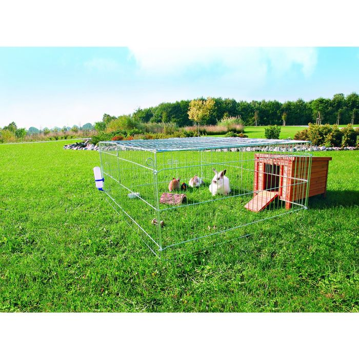 Загон Trixie с крышей для грызунов 216 х 116 х 65 см, оцинков.