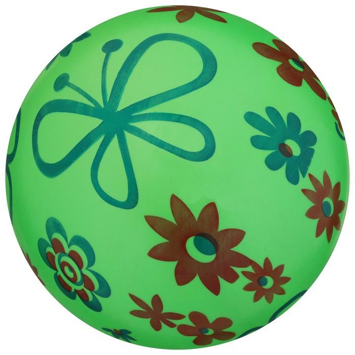 Мяч детский «Цветы», d=22 см, МИКС