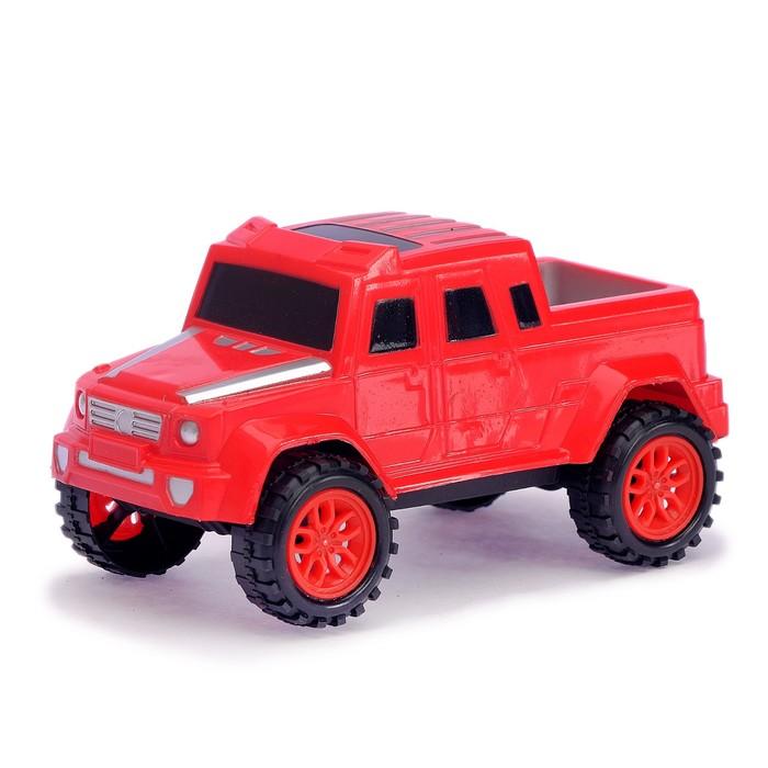 Машина инерционная «Гелик», цвета МИКС