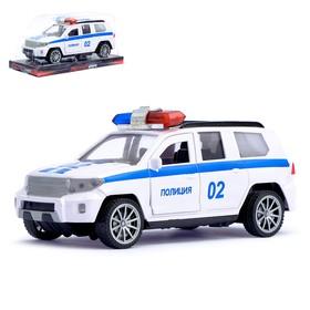 Машина инерционная «Полиция Круизёр», открываются двери