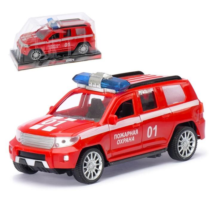 Машина инерционная «Пожарная охрана Круизёр», открываются двери