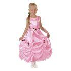 """Карнавальное платье """"Принцесса 003"""", р-р 60, рост 110-116 см, цвет розовый"""