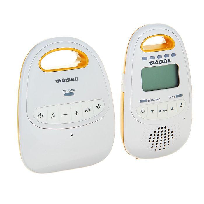 Радионяня Maman ВМ-2000,  радиус до 300 м, ЖК-дисплей