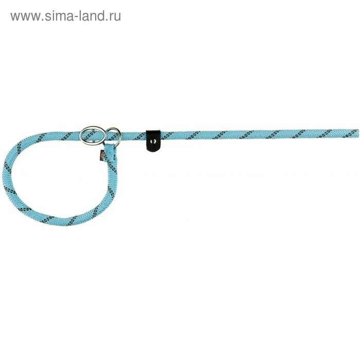 Поводок-удавка Trixie Sporty Rope, 1.7 м × 0.8 см (S-M), светло-синий