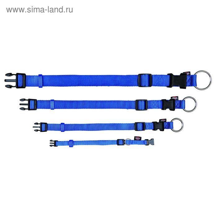 Ошейник Trixie Premium, S–M, 25–40 х 1,5 см, синий