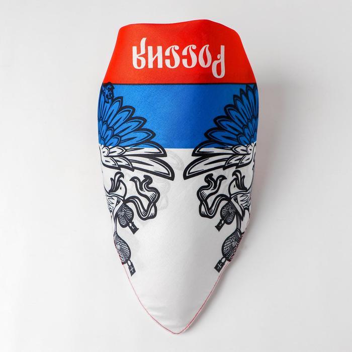 """Бандана """"Россия"""", триколор, 50 х 50 см"""