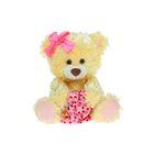 """Мягкая игрушка """"Медведь Праздничный"""" медово-желтый 50 см"""