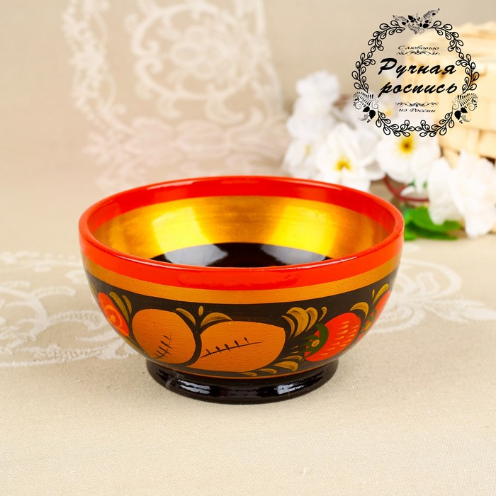 Чашка «Ягодка», 12×6,5 см, хохлома
