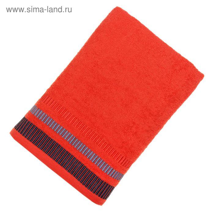 Полотенце махровое TW-Nice, размер 65x130, 340 г/м, цвет коралл