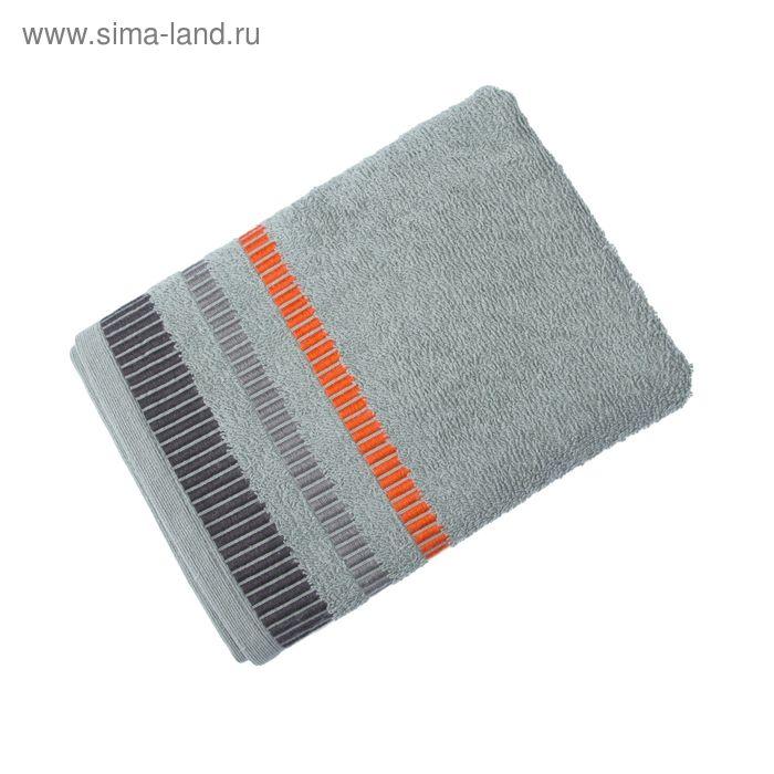 Полотенце махровое TW-Nice, размер 65x130, 340 г/м, цвет серебро