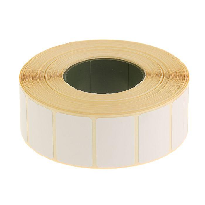 Термоэтикетка 30х20мм, диаметр втулки 40мм, 1800 штук