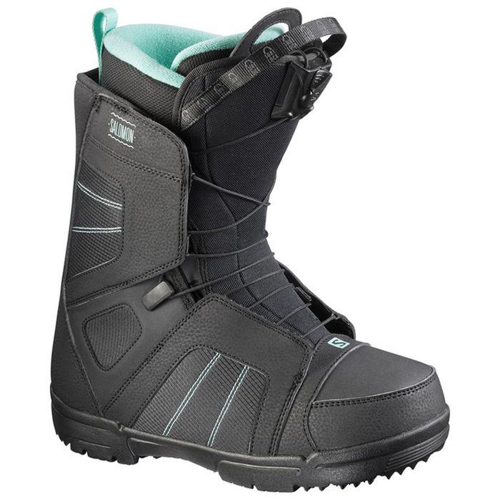 Ботинки для сноуборда Salomon SCARLET QL 23.5 FW17