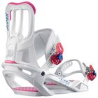 Крепления для сноуборда Salomon SPELL WHITE S FW17