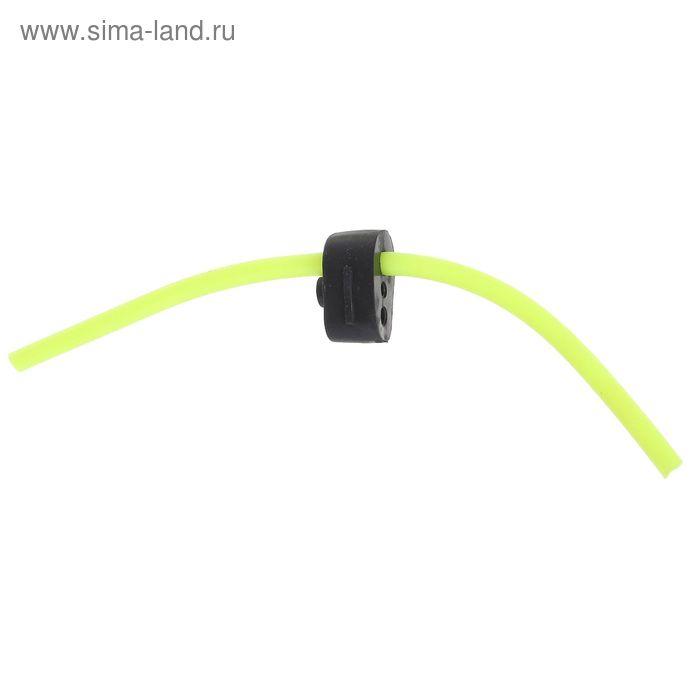 Сторожок ниппельный №1, цвет жёлтый флюоресцентный, тест 0,5-3 г (набор 50 шт.)