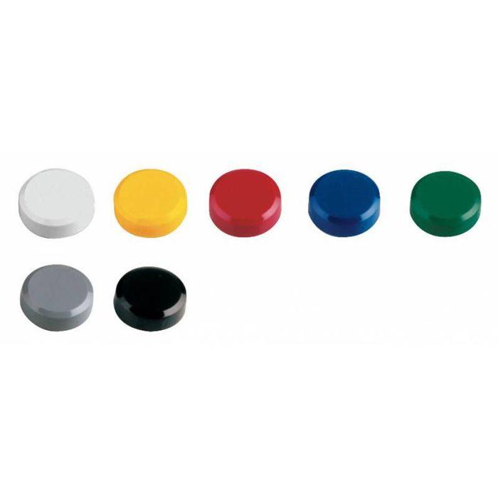 Магнит для доски, набор 20 шт, микс 61761-99/20, d=20 мм