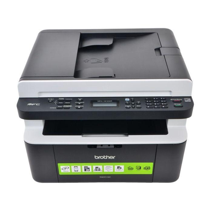 МФУ, лазерная черно-белая печать Brother DCP-1912WR, А4, WiFi