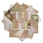 Набор бумаги для скрапбукинга RusticWedding, 12 листов 30,5 × 30,5 см, 180 г/м