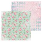 Бумага для скрапбукинга «Розовые бутоны», 15.5 × 15.5 см, 180 г/м