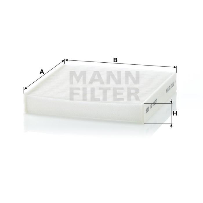 Фильтр салонный MANN-FILTER CU1827