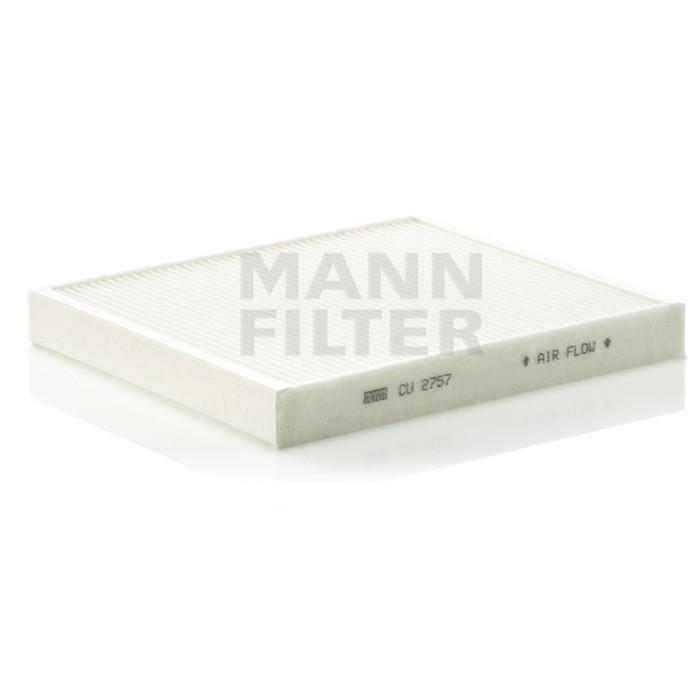 Фильтр салонный MANN-FILTER CU2757