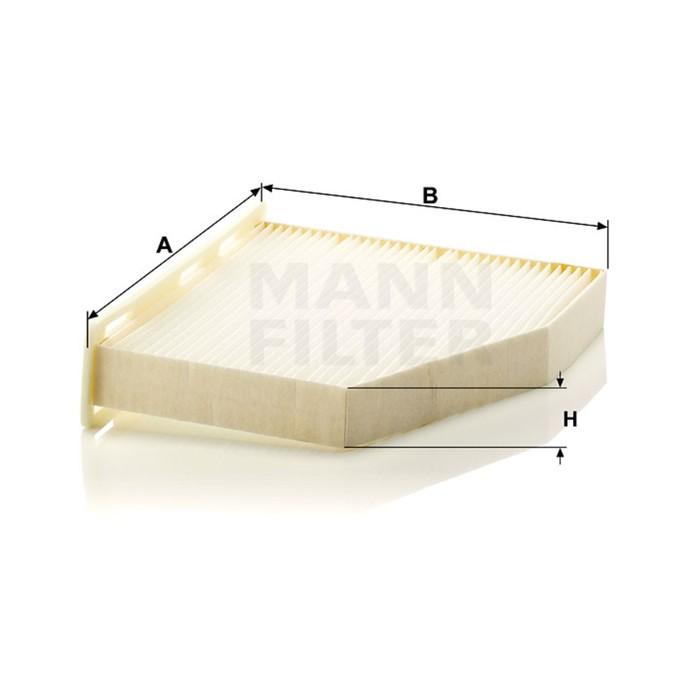 Фильтр салонный MANN-FILTER CU2939