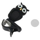 Хроматический тюнер-клипса G.A.S. OWL (Black)