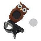 Хроматический тюнер-клипса G.A.S. OWL (Brown)
