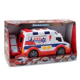 Машина скорой помощи Ambulance, 33 см
