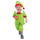 """Карнавальный костюм """"Гномик зелёный"""" от 1,5-3-х лет, велюр, обхват головы 48-55 см"""