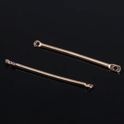 Коннектор (набор 20шт) 34мм, СМ-224, цвет золото