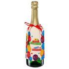 """Набор для украшения подарочной бутылки """"С Днем Рождения!"""", 21 х 29 см"""
